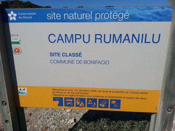 Panneau Campu Rumanilu