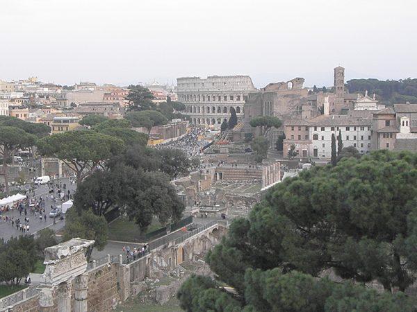 Vue du Colisée