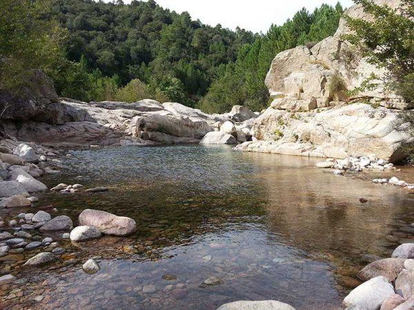 Les piscines de Cavu