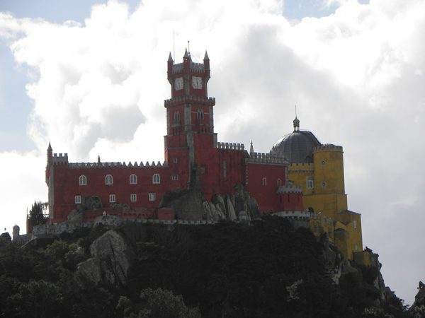 Vue du Palais de Pena