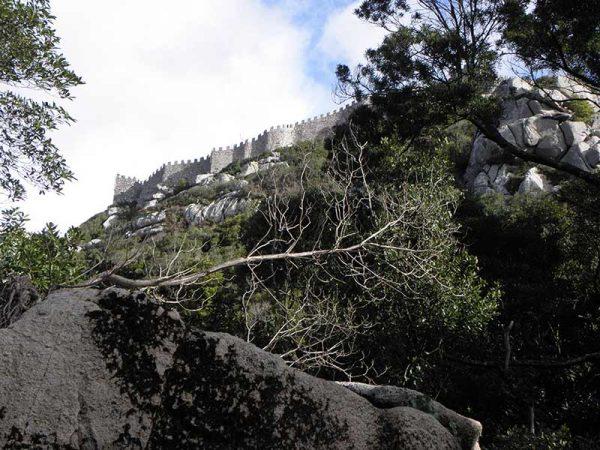 Vue du Castelo dos Mouros
