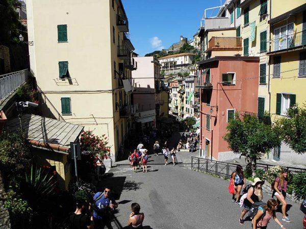Dans les rues de Riomaggiore