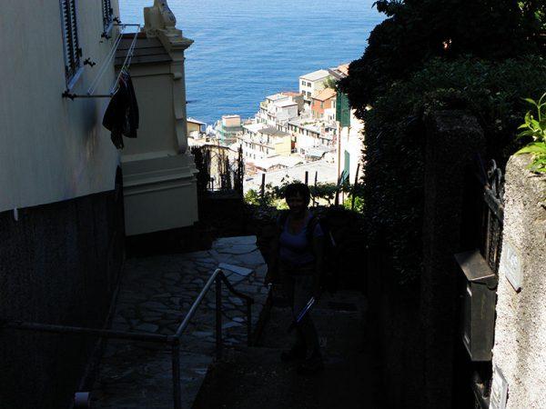 Vue de Riomaggiore
