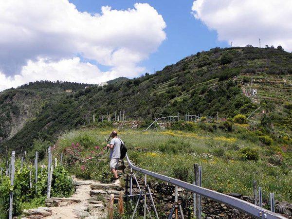 Parcours de trail 6p à Corniglia