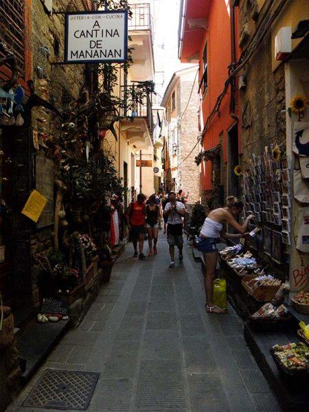Dans les rues de Corniglia