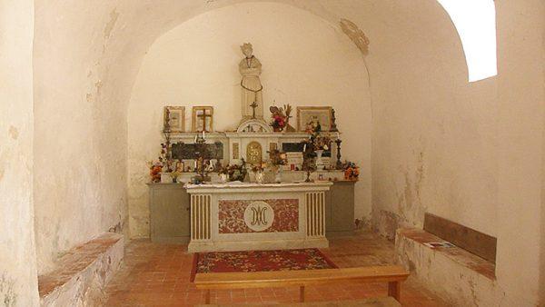 La Chapelle Saint Saturnin dans les gorges de la Siagne