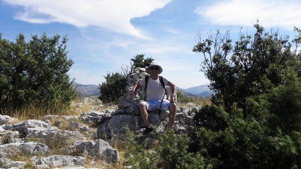 Sommet de la montagne des Louquiers