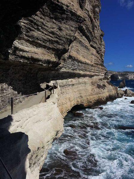 L'escalier du Roy d'Aragon